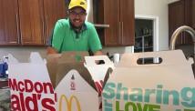 მაიკ ნურის $1.000 დოლარიანი McDonald's-ის სანაძლეო კრახით დასრულდა