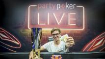 PartyPoker-ის წარმომადგენლის ამპლუაში, ფედორ ჰოლცი პირველ ტურნირს იგებს