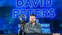 2019 წლის US Poker Open-ის ჩემპიონი დევიდ პიტერსი გახდა
