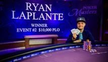 რაიან ლაპლანტმა Poker Masters-ზე ომაჰას ტურნირი მოიგო