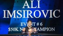 ალი იმსიროვიჩმა Poker Masters-ის 2 ტურნირი ზედიზედ მოიგო