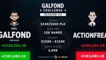 Galfond Challenge 3: ფილ გალფონდი €300.000-ით დაწინაურდა