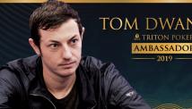 ტომ დუანი Triton Poker-ის წარმომადგენელი გახდა