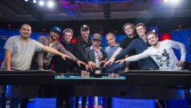 WSOP 2016: მეინ ივენთის ფინალური მაგიდა გარკვეულია - კლიფ ჯოზეფი 'ნოემბრის ცხრიანის' სათავეში