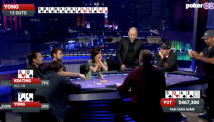 Poker After Dark-ის ეთერში რობ იონგმა $467.300 დოლარიანი დარიგება მოიგო